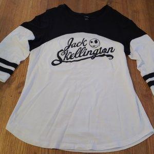 Tops - Jack Skellington baseball tee